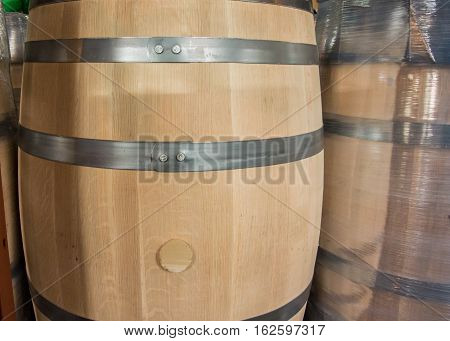 New Barrel With Bung