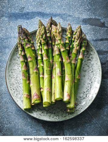 Asparagus. Raw asparagus. Fresh Asparagus. Green Asparagus.