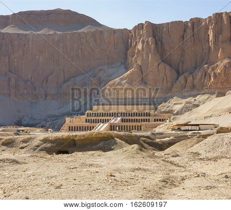 Memorial Temple Of Hatshepsut . Luxor, Egypt