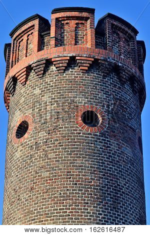 Tower Friedrichsburg gate - old German Fort in Konigsberg. Kaliningrad, until 1946 Koenigsberg, Russia