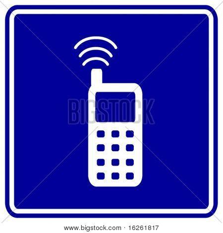 señal de teléfono celular