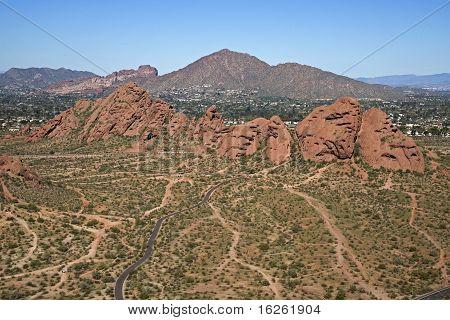 Papago Park & Camelback Mountain