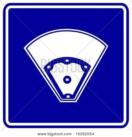 baseball field sign