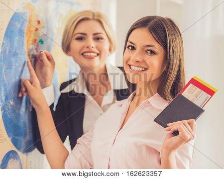 Visiting Travel Agency