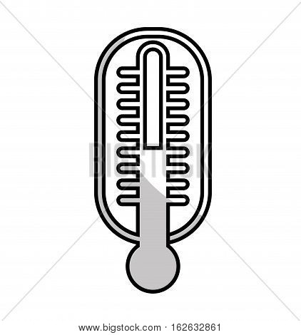 thermometer medical isolated icon vector illustration design
