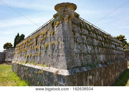 The Angle Of The Fortress Of The Medieval Citade