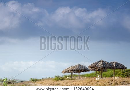Rest Area By The Beach In Aruba
