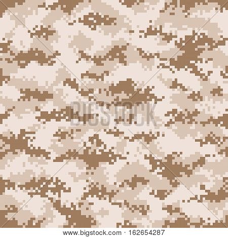 Modern fashion trendy camo pattern, vector illustration