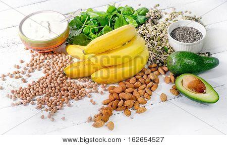 Foods Containing Magnesium.