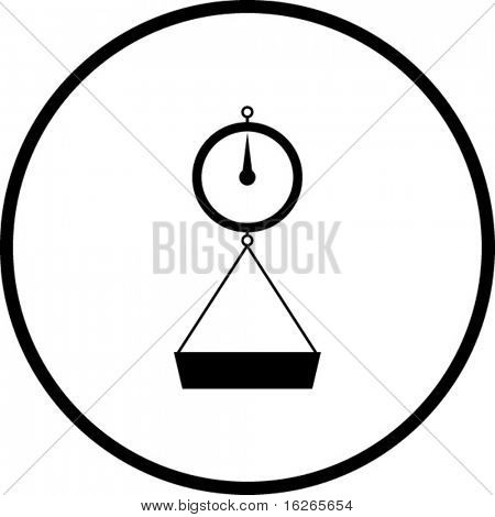 weight scale symbol