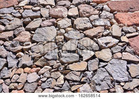 Volcanic Basaltic Rock Formation