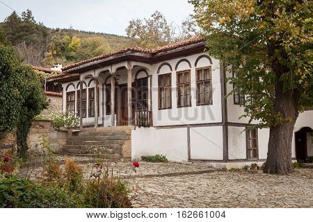 Old house in Zheravna (Jeravna). The village is an architectural reserve of Bulgarian National Revival period (18th and 19th century)