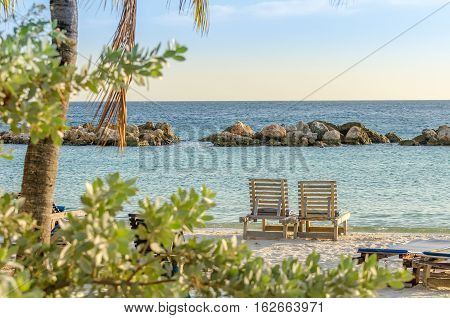 Front Row Seats By The Sea In Curacao