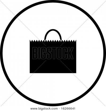 shopping bag symbol