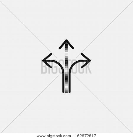 three way direction arrow sign, road direction Icon, three way direction arrow sign, road direction Icon Eps10, three way direction arrow sign, road direction Icon Vector, three way direction arrow sign, road direction Icon Eps, three way direction arrow
