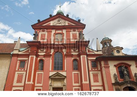 St. George's Basilica In Prague Czech republic