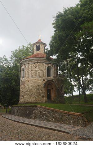 Oldest Rotunda Of St. Martin In Vysehrad, Prague