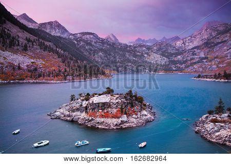 Lake Sabrina Sunrise