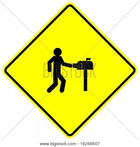 mailman sign