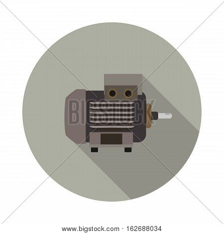 flat icon motor in vector format eps10