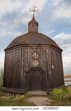 old chapel in the village Vitachov near Kiev