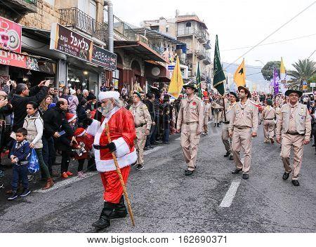 Pupils Of St. Elias Episcopal School Participate In Christmas Parade