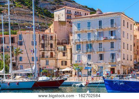 Bonifacio, Corsica Island, Summer Day