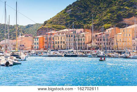 Bonifacio, Resort City Of Corsica Island