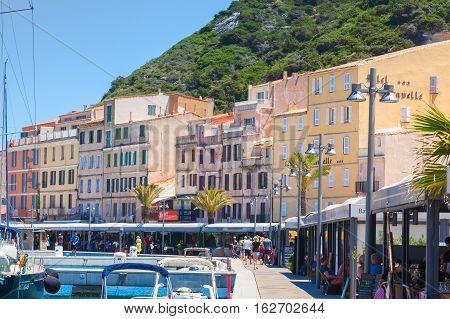 Embankment Of Bonifacio, Corsica