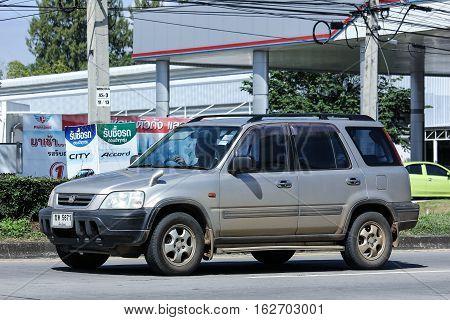 Private Honda Crv Suv Car.