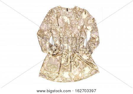 Women's shirt (blouse) isolated on white background