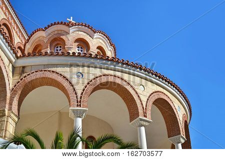 the Monastery of Saint Nectarios in Aegina island Greece