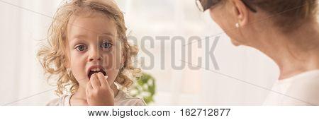 Little Girl With Grandma