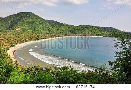 Seascape In Lombok Island, Indonesia
