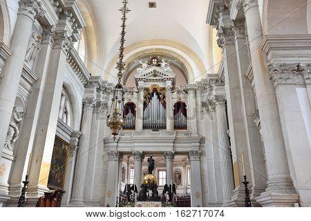 Abbey San Giorgio Di Maggiore In Venice
