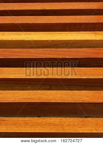 Wood Lath Wall background on vertical planks
