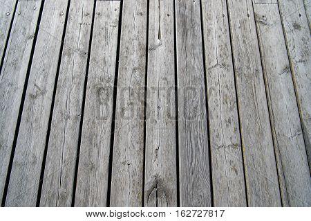 Grey Wooden Textured Background