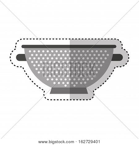 fry rack isolated icon vector illustration design