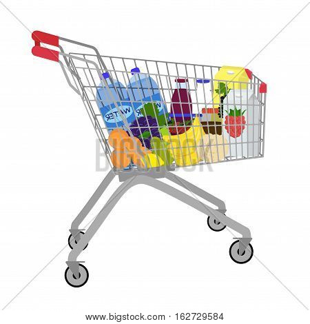 Vector Shopping Cart.