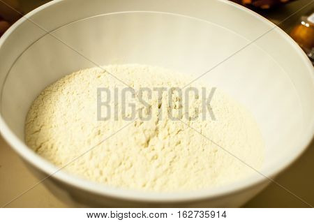 flour for home made cookies and sweets