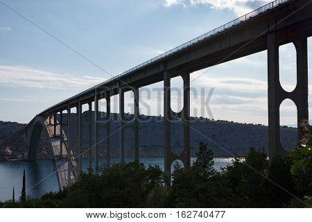 Bridge To Krk Island