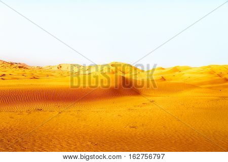 In Oman Old Desert