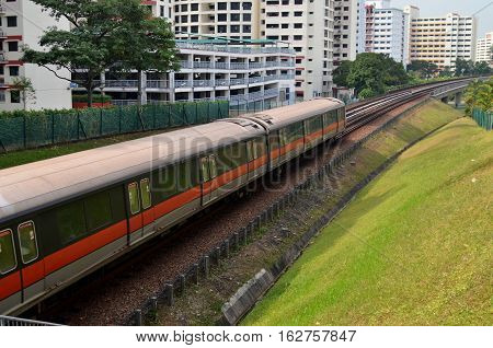 Singapore Mass Rapid Train