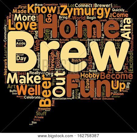 Zymurgy Lovers You Know text background wordcloud concept