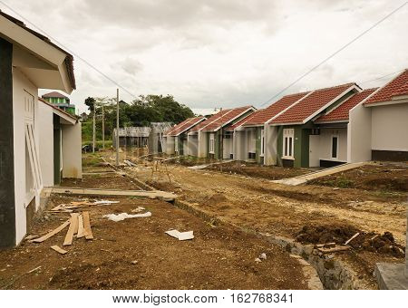 intermediate real estate project photo taken in Bogor Indonesia java