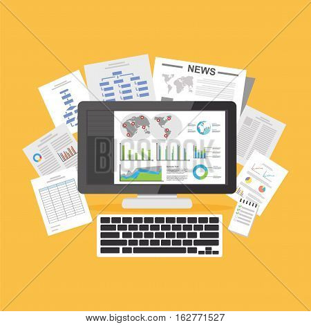 Digital documents. Online articles. Information Resources .