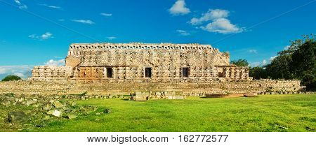 Palace Of The Masks In Kabah, Yucatan, Mexico