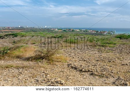 Panorama View With The Arashi Beach As Background