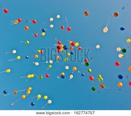 Blue Sky Color Balloons