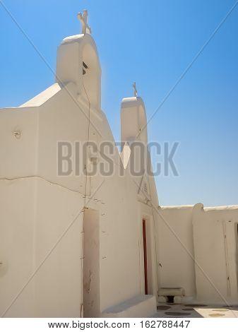 Church In Mykonos, A Popular Island Landmark